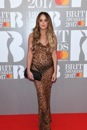 Charlotte Crosby – The Brit Award in London 2/22/ 2017
