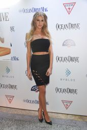 Charlotte McKinney - Ocean Drive Magazine Celebration Party in Miami 2/15/ 2017