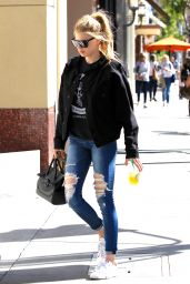Charlotte McKinney - Out in Beverly Hills 1/30/ 2017