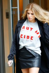 Charlotte McKinney - Out in New York 2/7/ 2017