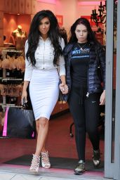 Chloe Khan Street Fashion - Shopping in London 2/16/ 2017