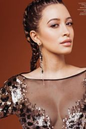 Christian Serratos - Sosa + Art for Bello Magazine #144