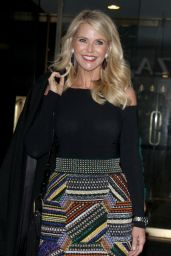 Christie Brinkley Arriving to Appear on Today Show in New York City 2/15/ 2017