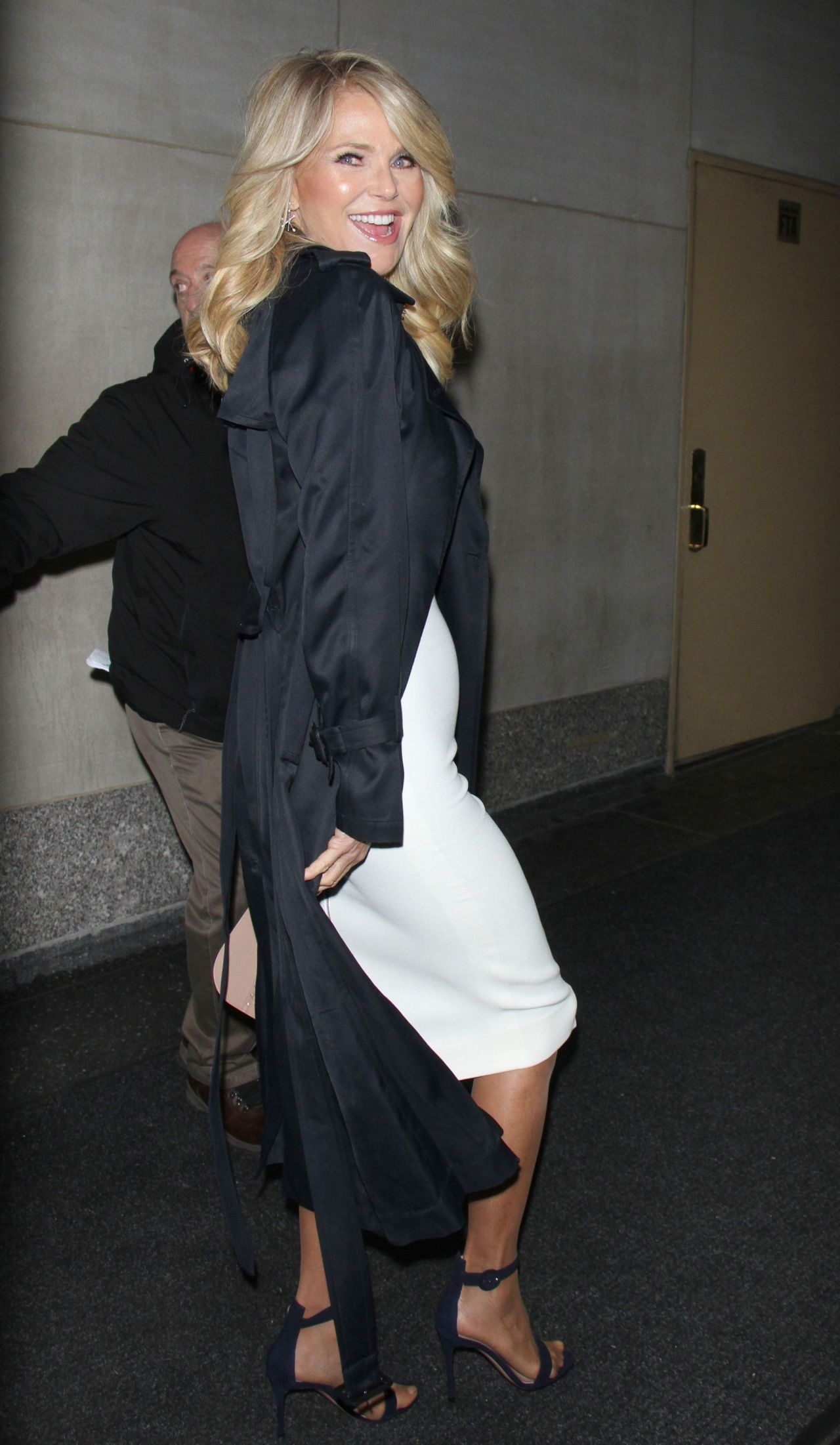 Christie Brinkley Arriving To Appear On Today Show In New