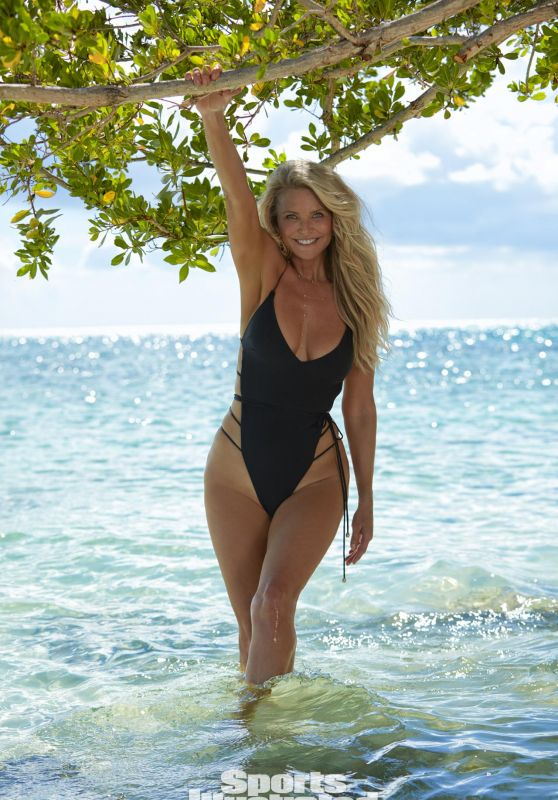 Christie Brinkley in Bikini – SI Swimsuit 2017