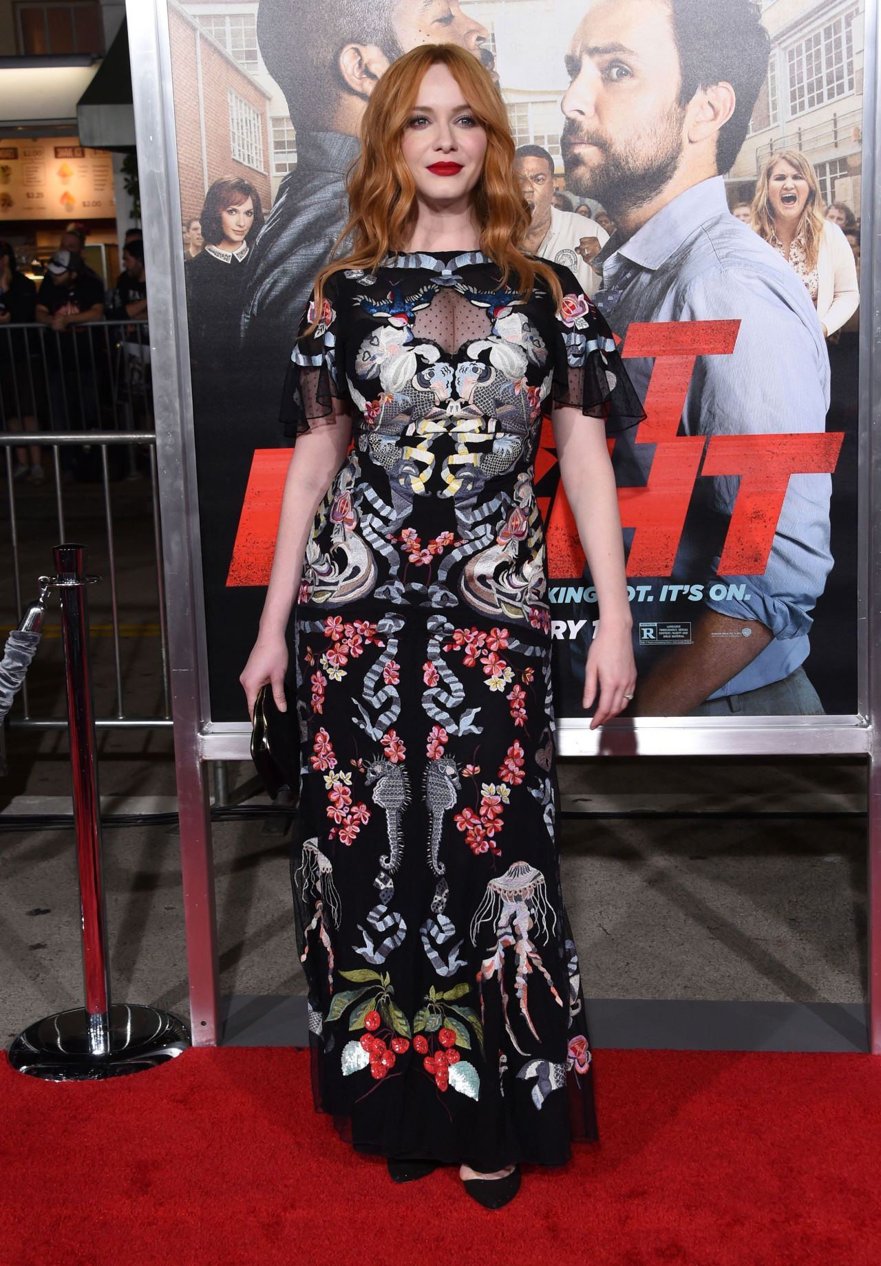 Christina Hendricks Fist Fight Premiere In Westwood 2