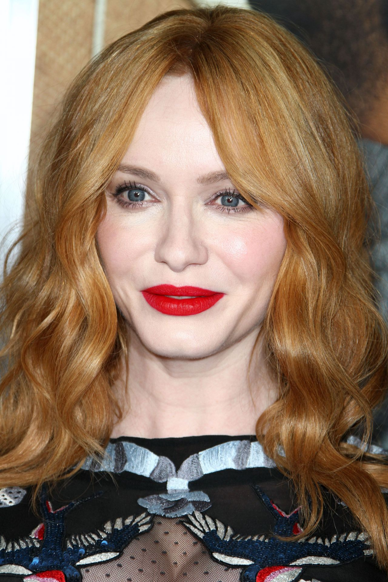 Christina Hendricks Fist Fight Premiere In Westwood 2 13 2017