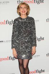 Christine Baranski – 'The Good Fight' Premiere in New York 2/8/ 2017
