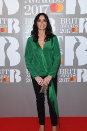 Christine Bleakley – The Brit Awards at O2 Arena in London 2/22/ 2017
