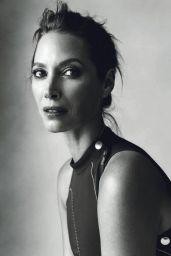 Christy Turlington - Photoshoot for Harper