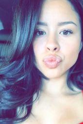 Cierra Ramirez -Social Media Pics, January 2017