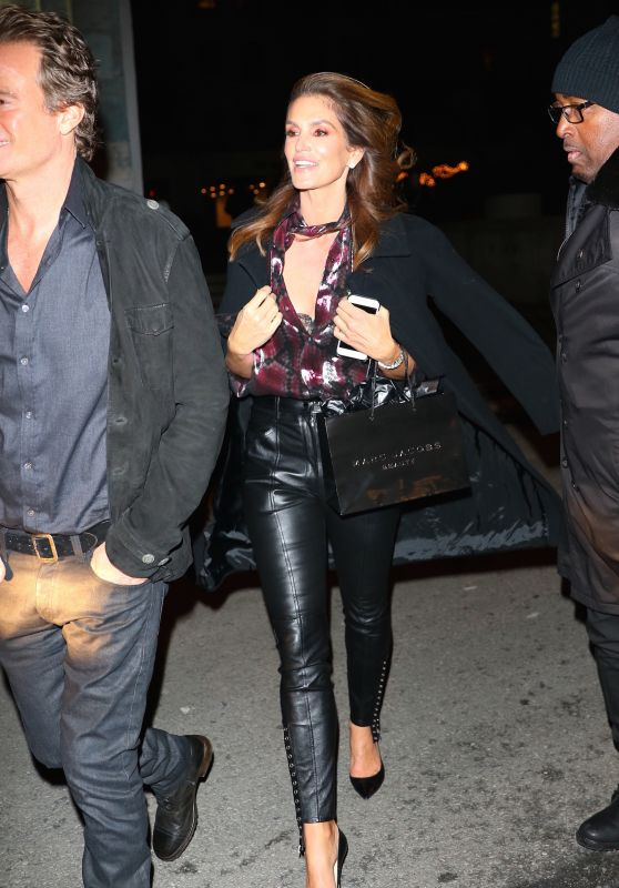 Cindy Crawford at the Marc Jacobs Private Party in NYC 2/15/ 2017