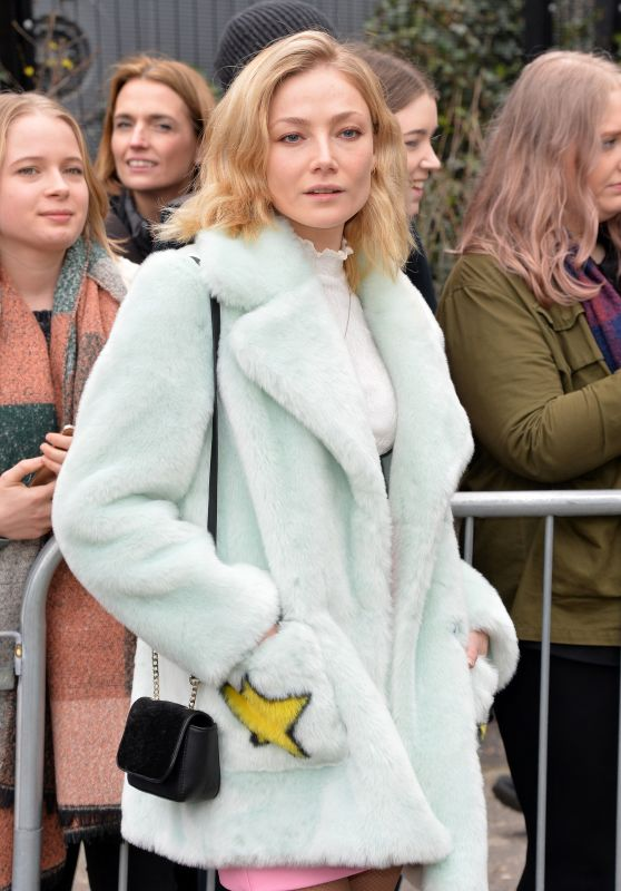 Clara Paget – Topshop Unique Show at London Fashion Week 02/19/ 2017