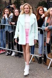 Clara Paget – Topshop Unique Show at London Fashion Week 02/19/ 2017