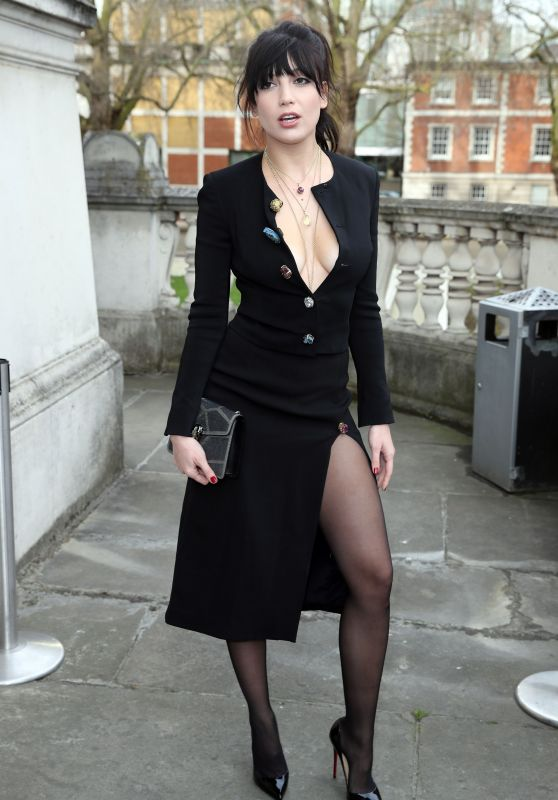 Daisy Lowe - Christopher Kane Fashion Show in London 2/20/ 2017