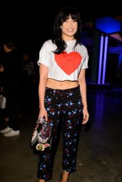 Daisy Lowe – House of Holland Show at London Fashion Week 2/18/ 2017