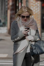 Dakota Fanning - Taking a Stroll Through Soho in NYC 2/2/ 2017