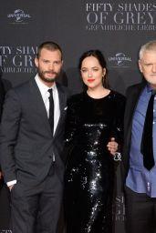 Dakota Johnson - Fifty Shades Darker Premiere in Hamburg 2/7/ 2017