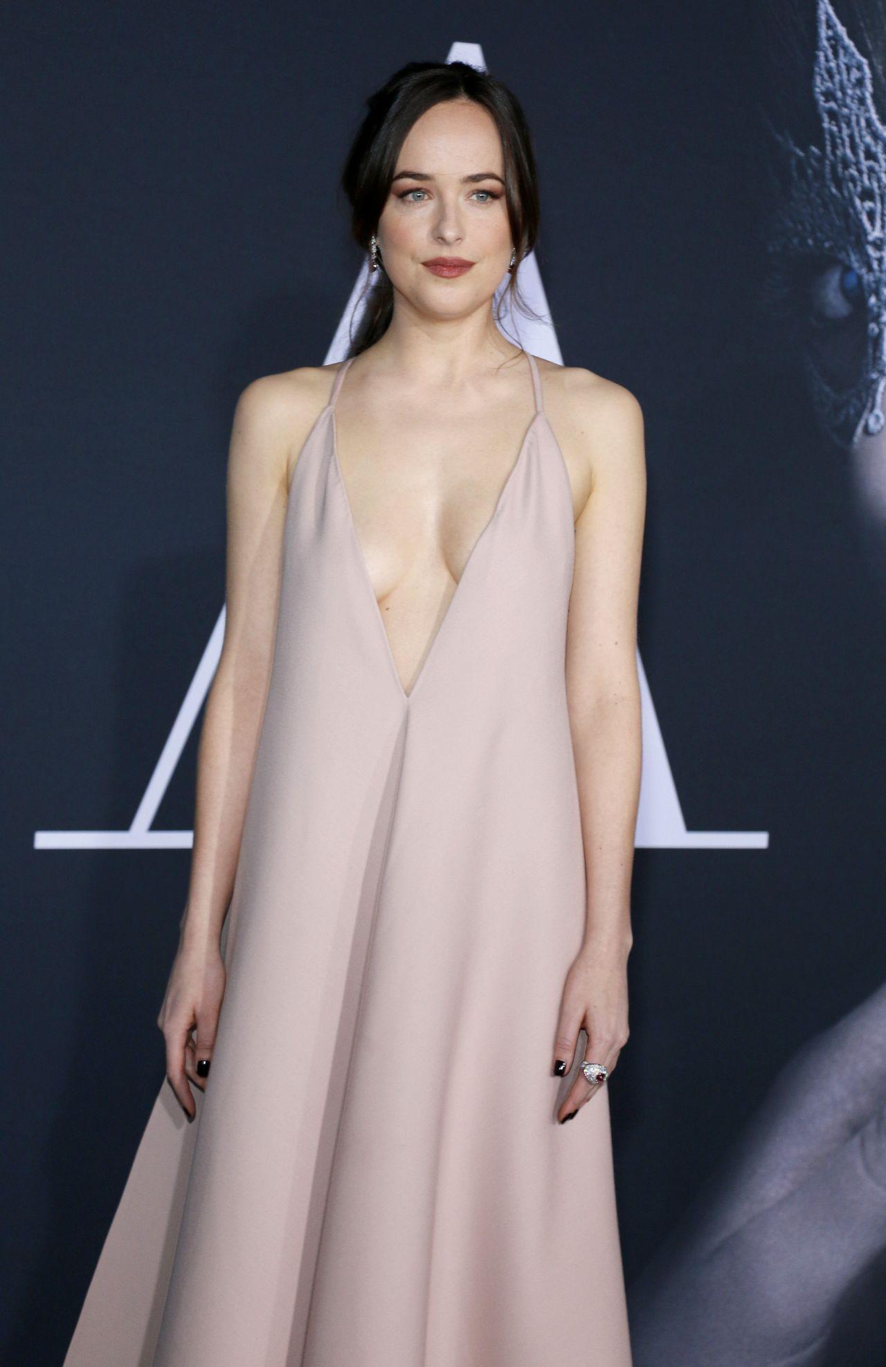 Dakota Johnson - Fifty Shades Darker Premiere in Los