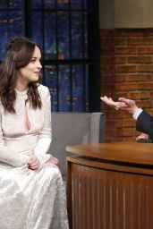 Dakota Johnson - Late Night with Seth Meyers inNYC 2/1/ 2017