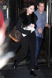 Dakota Johnson - Leaves Her Downtown Hotel in New York City 2/1/ 2017