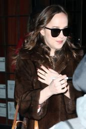 Dakota Johnson - Leaving the Bowery Hotel in New York City 2/01/ 2017
