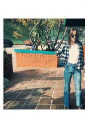 Dakota Johnson - Social Media Pics, January 2017
