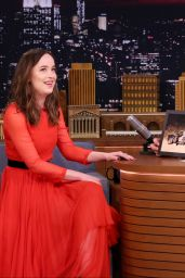 Dakota Johnson - The Tonight Show Starring Jimmy Fallon in NYC 1/31/ 2017