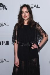 Dakota Johnson – Vanity Fair and L'Oreal Paris Toast to Young Hollywood in West Hollywood 2/21/ 2017