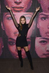 Daniela Lopez Attends Maybelline New York Celebrates Fashion Week 2/12/ 2017