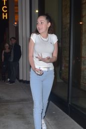 Danielle Ann - Leaving Catch Restaurant in LA 2/2/ 2017