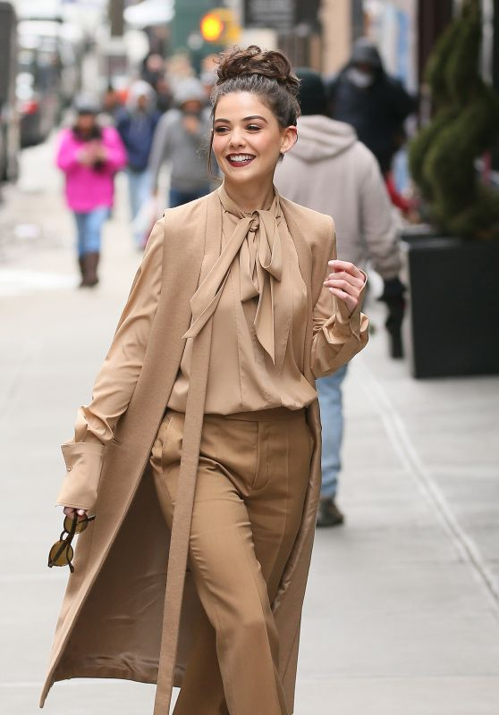 Danielle Campbell - Out in Manhattan for New York Fashion Week 2/13/ 2017