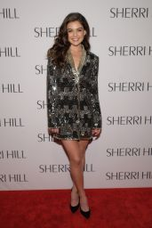 Danielle Campbell - Sherri Hill NYFW Fall 2017 Fashion Show in New York 2/13/ 2017
