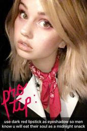 Debby Ryan – Social Media Pics, January 2017