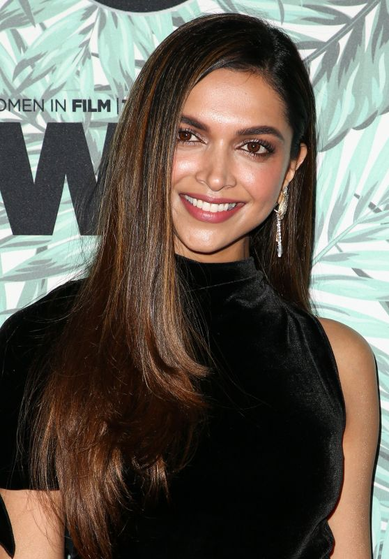 Deepika Padukone – Woman in Film Cocktail Party in Los Angeles 2/24/ 2017