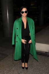 Demi Lovato - Arrives to LAX in Los Angeles 2/5/ 2017