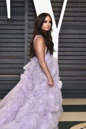 Demi Lovato at Vanity Fair Oscar 2017 Party in Los Angeles