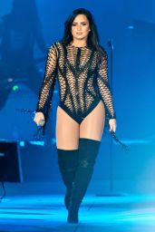 Demi Lovato - Performing at Redfestdxb Festival in Dubai 2/4/ 2017
