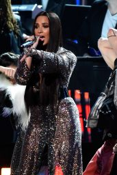 Demi Lovato - Performs During GRAMMY Awards at STAPLES Center in LA 2/12/ 2017