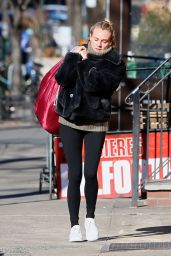 Diane Kruger in Tights - Out in New York City 2/5/ 2017