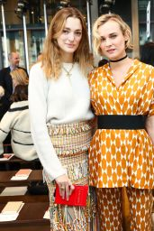 Diane Kruger - Tory Burch Fashion Show in NY 2/14/ 2017