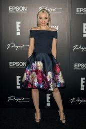 Dove Cameron - Epson Digital Couture Presentation During New York Fashion Week 2/7/ 2017