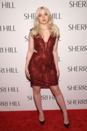 Dove Cameron – Sherri Hill NYFW Fall 2017 Fashion Show in New York 2/13/ 2017