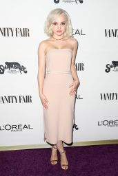 Dove Cameron – Vanity Fair and L'Oreal Paris Toast to Young Hollywood in West Hollywood 2/21/ 2017