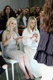 Dove Cameron - Who What Wear Runway Show in New York 2/8/ 2017