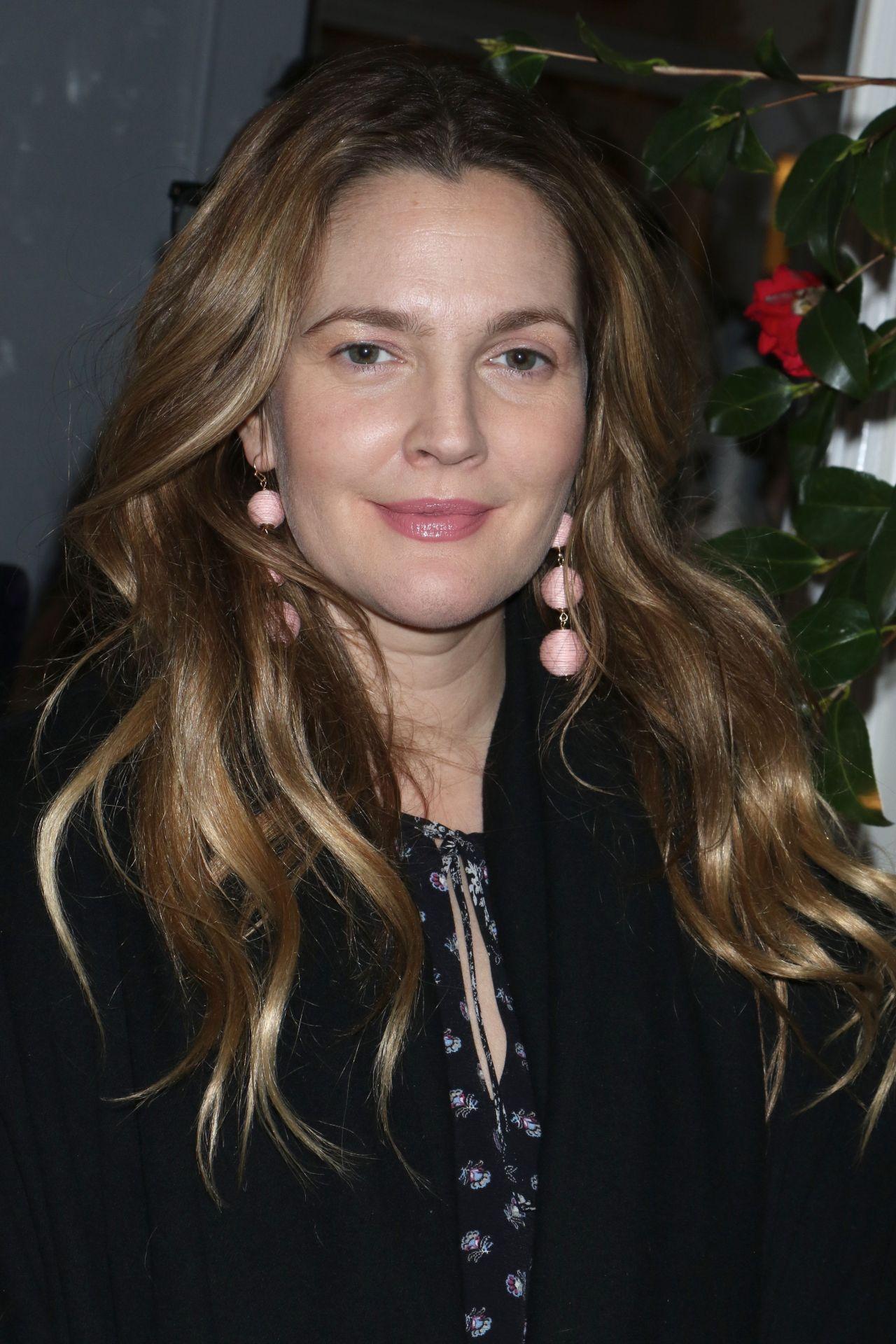 Drew Barrymore - Club Monaco Fashion Presentation in New ...