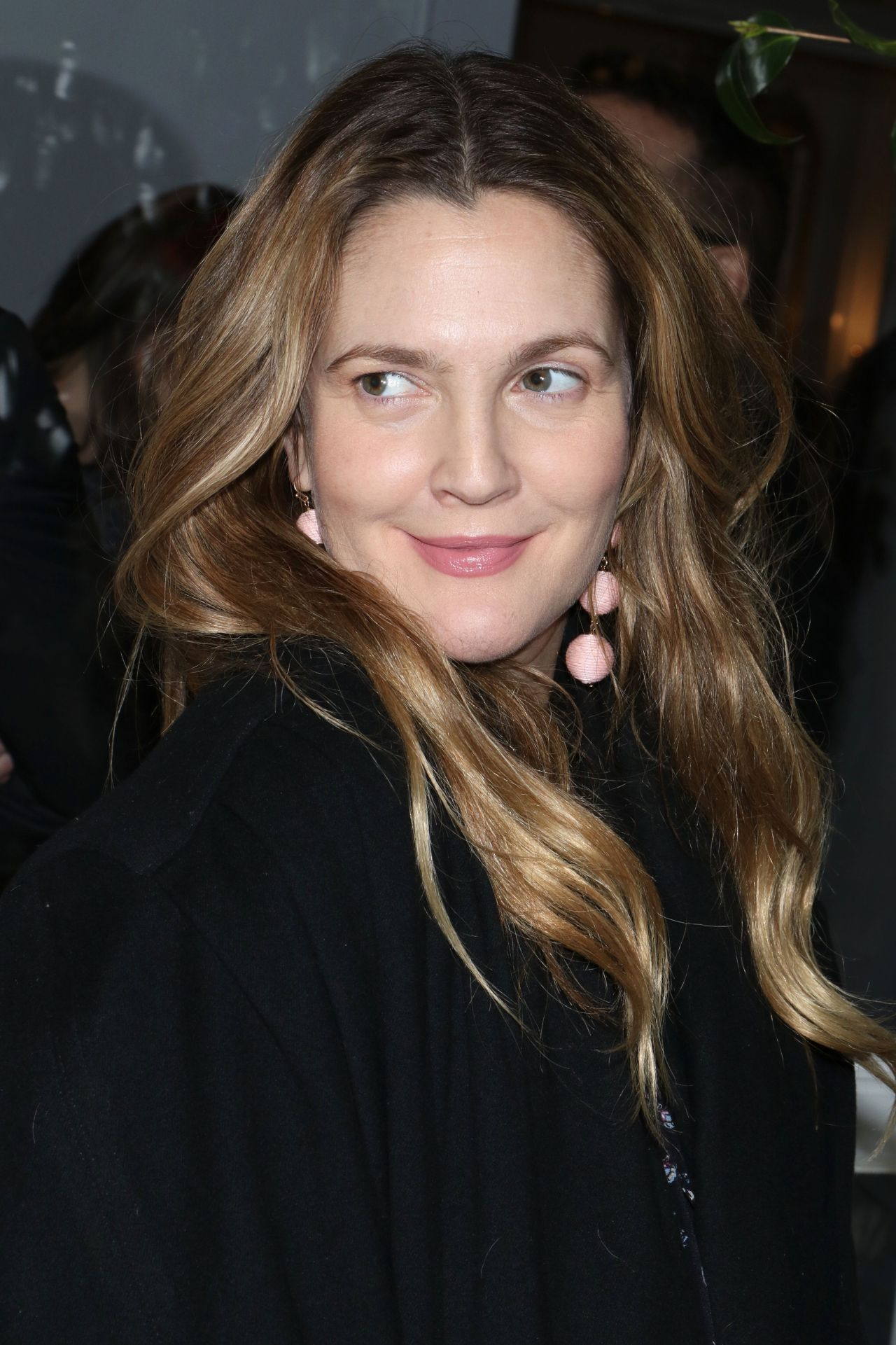 Drew Barrymore Club Monaco Fashion Presentation In New