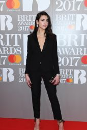 Dua Lipa – The Brit Awards at O2 Arena in London 2/22/ 2017