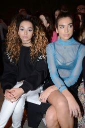 Dua Lipa – Topshop Unique Show at London Fashion Week 02/19/ 2017