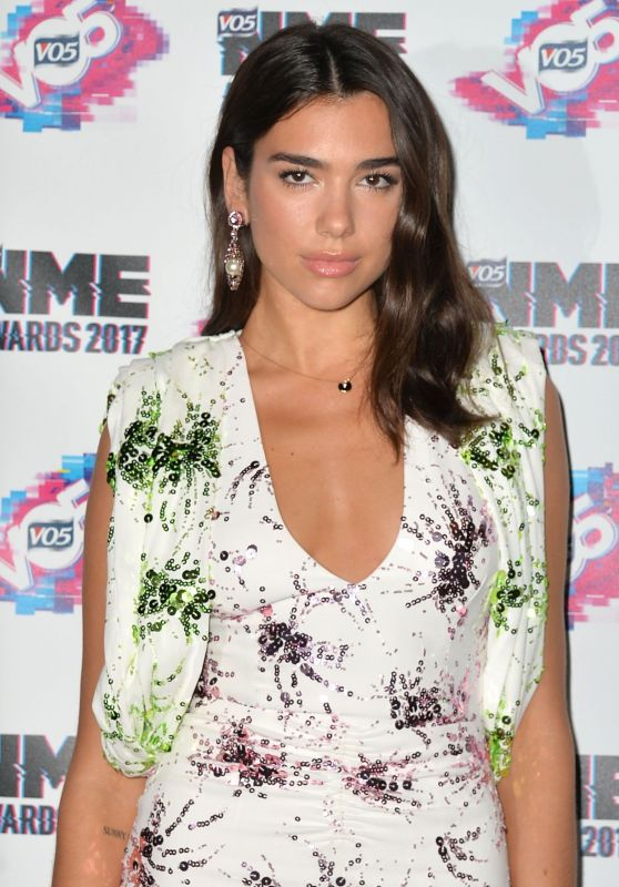 Dua Lipa - VO5 NME Awards, London, UK 2/15/ 2017